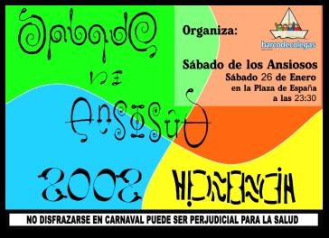 Sábado de los Ansiosos de Carnaval 2008 de Herencia