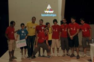 organizacion y finalistas de la IV gymkhana barco de colegas
