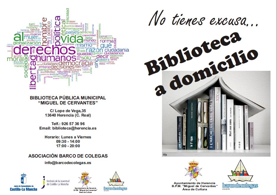 biblioteca a domicilio Herencia (Ciudad Real)