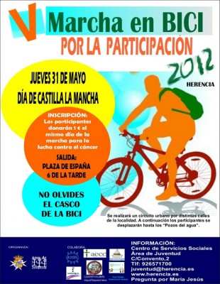 V Marcha en bicicleta contra el cáncer - Herencia